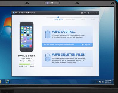 safe eraser per iphone, ipad, ipod