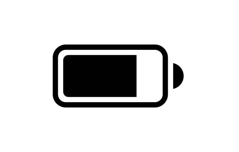 mostra la percentuale della batteria di Samsung Galaxy
